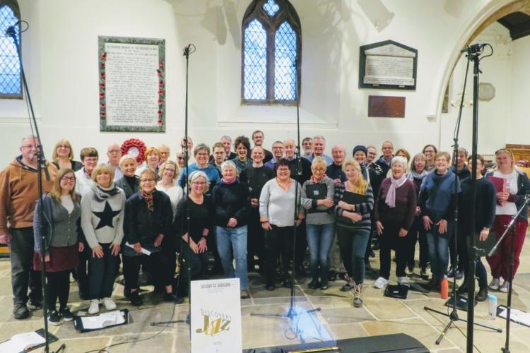 Harrogate Theatre Choir recording at All Saint's Church