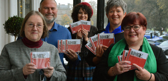 Harrogate Theatre Choir album launch