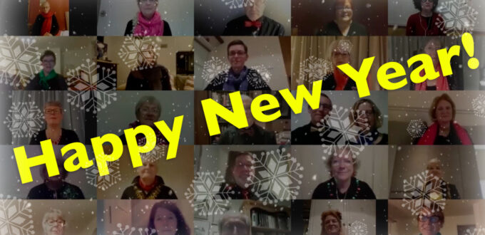 Happy New Year from Harrogate Theatre Choir